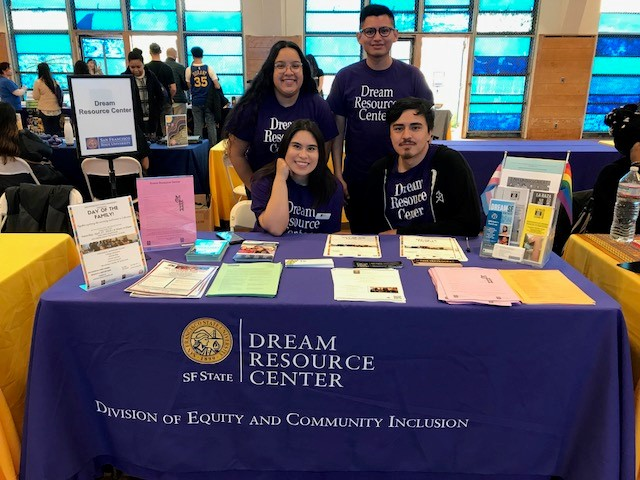 Dream Resource Center tabling during Sneak Preview 2019