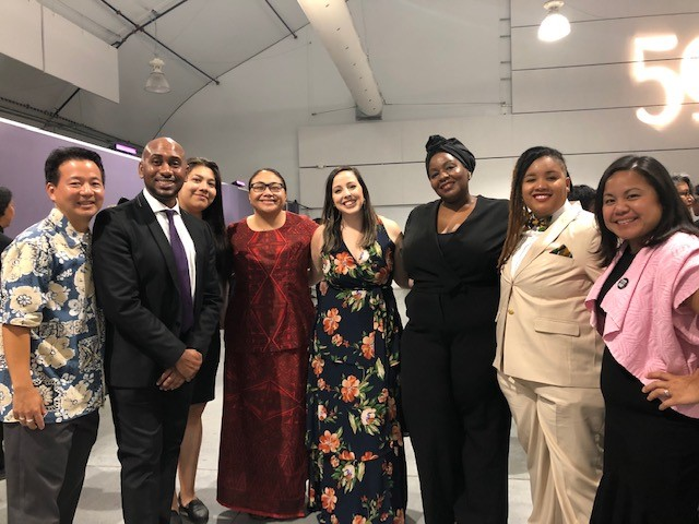 Staff Picture at Ethnic Studies Gala
